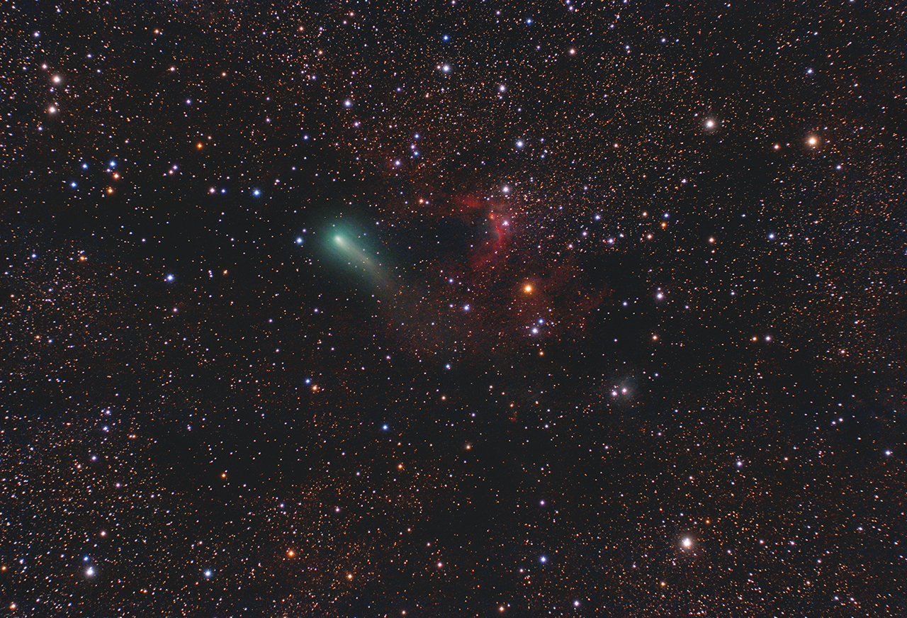 comète Jiacobini Zinner  Cometejiacobinizinner_site_1